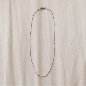 SILVER necklace NWOT